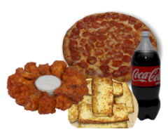 meal-pic-1-MED-pizza-WINGS-coke-garlic-bread