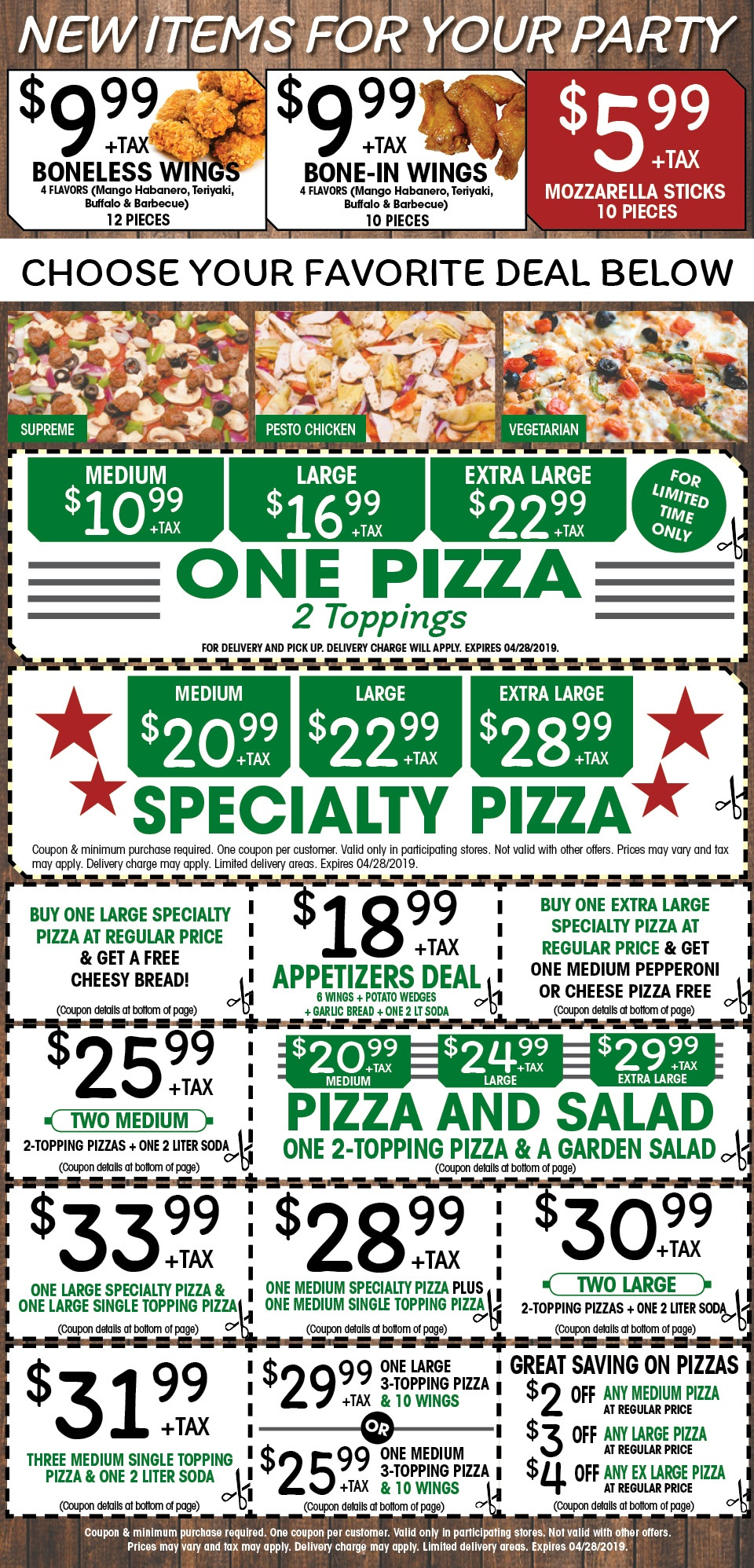 Via Mia Pizza on Camden Ave, San Jose, CA - Coupons 2019