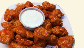 Boneless Buffalo Wings - Via Mia Pizza Camden