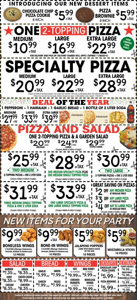 Via Mia PIzza on Camden Ave in San Jose, CA - Coupons